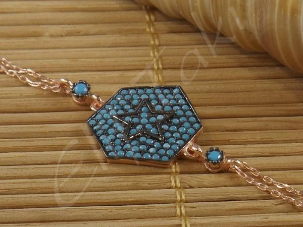 Zincir Bileklik Yıldız zncbil1001