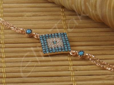 Zincir Bileklik Kare zncbil1003
