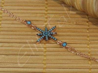 Zincir Bileklik Kuzey Yıldızı zncbil1017