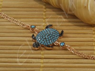 Zincir Bileklik Kaplumbağa zncbil1020